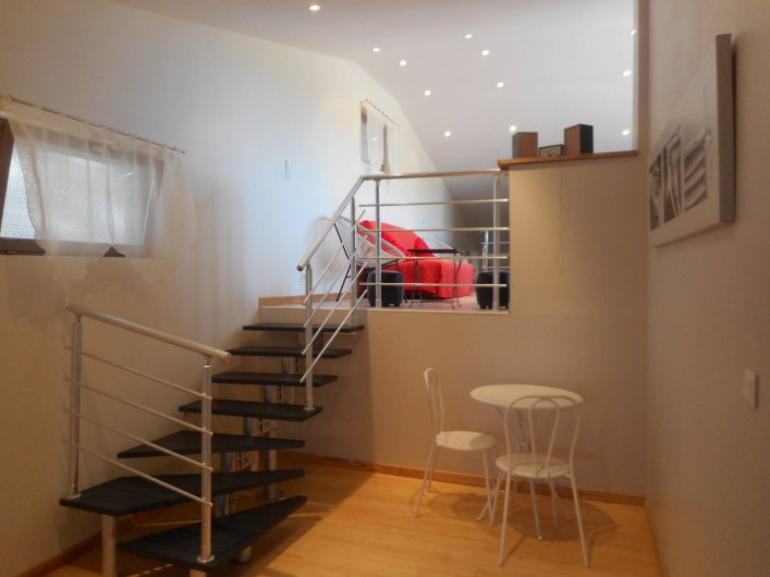 Location de vacances - Maison - Villa à Carantec - ACCÈS AUX SECONDES CHAMBRES