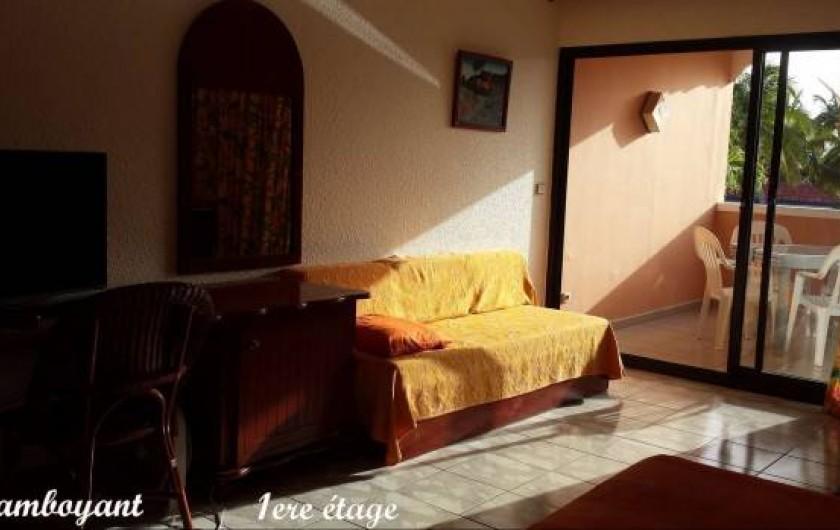 Location de vacances - Studio à Marigot