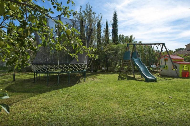 Location de vacances - Villa à Saint-Gély - Jeux pour enfants