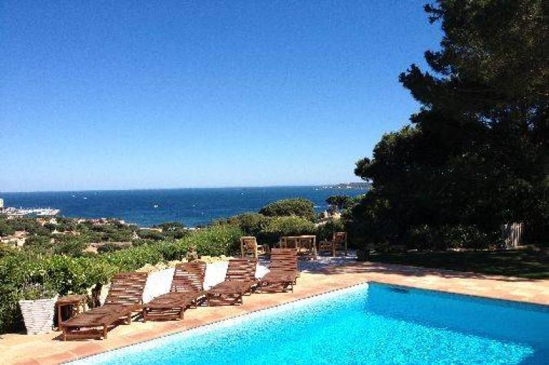 Location de vacances - Villa à Sainte-Maxime
