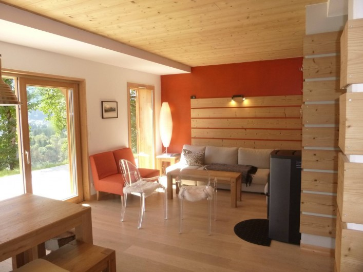 Location de vacances - Appartement à Samoëns - Un coin salon confortable