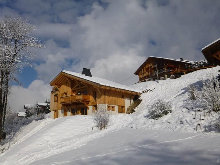 Location de vacances - Appartement à Samoëns - Un chalet integré dans un environnement de charme