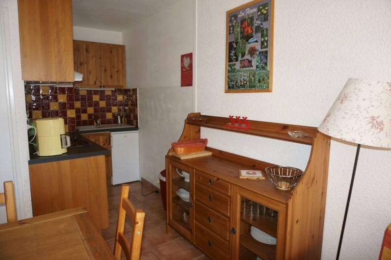 Location de vacances - Appartement à Saint-Sorlin-d'Arves - Coin salle à manger / cuisine
