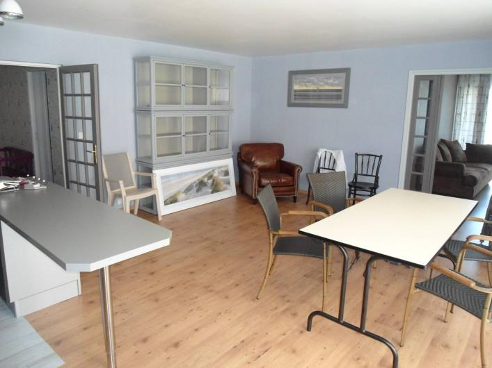 Location de vacances - Appartement à Le Touquet-Paris-Plage - la salle à manger