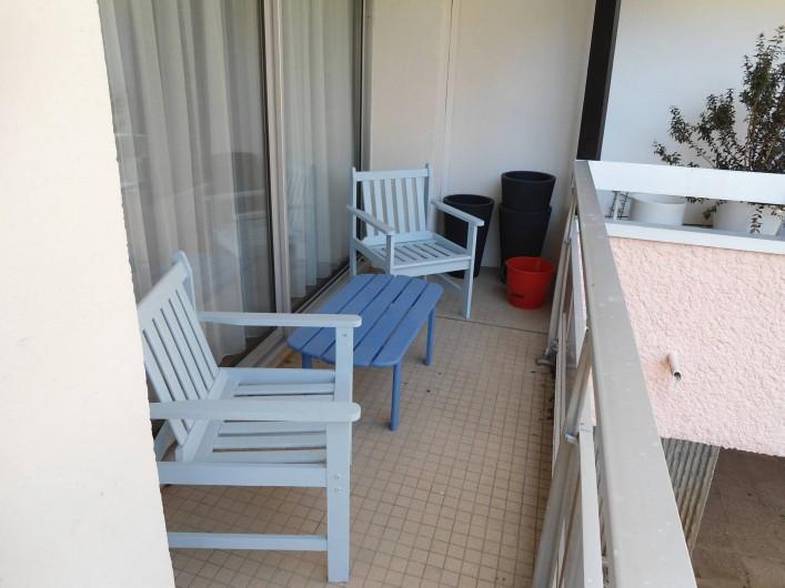 Location de vacances - Appartement à Le Touquet-Paris-Plage - balcon