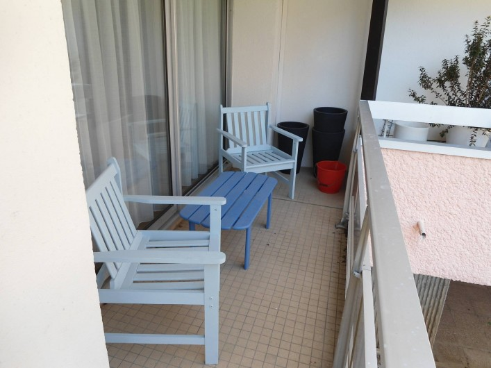Location de vacances - Appartement à Le Touquet-Paris-Plage - balcon