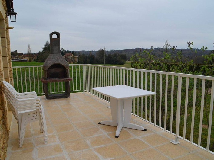 Location de vacances - Gîte à Prats-de-Carlux - Terrasse du gite