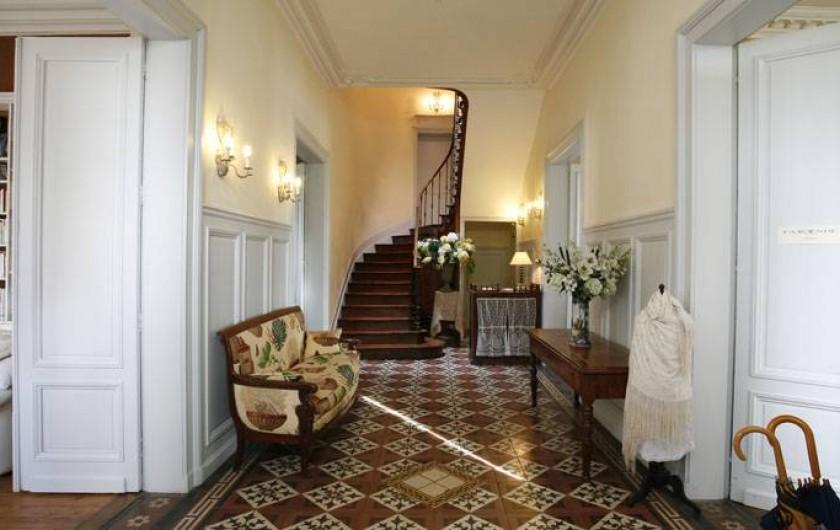 Location de vacances - Chambre d'hôtes à Saintes - Le hall