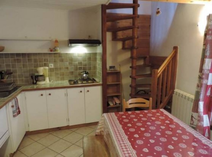 Location de vacances - Appartement à Embrun - cuisine