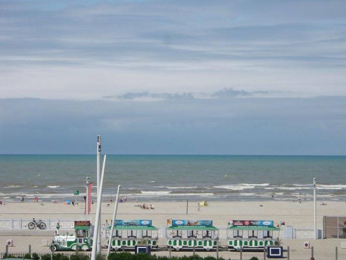 Location de vacances - Appartement à Le Touquet-Paris-Plage - Le petit train touristique face à l'appartement vous attends ..tchou chou !!
