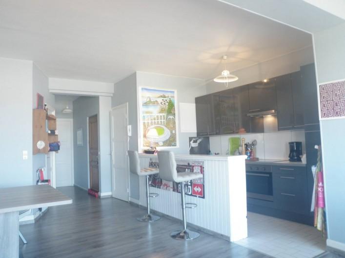 Location de vacances - Appartement à Le Touquet-Paris-Plage - tiens ! la cuisine