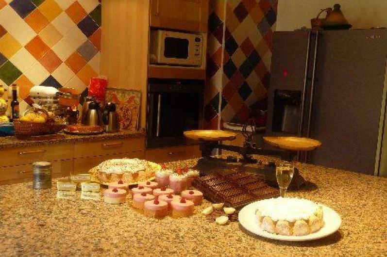Location de vacances - Chambre d'hôtes à Guchen - La cuisine