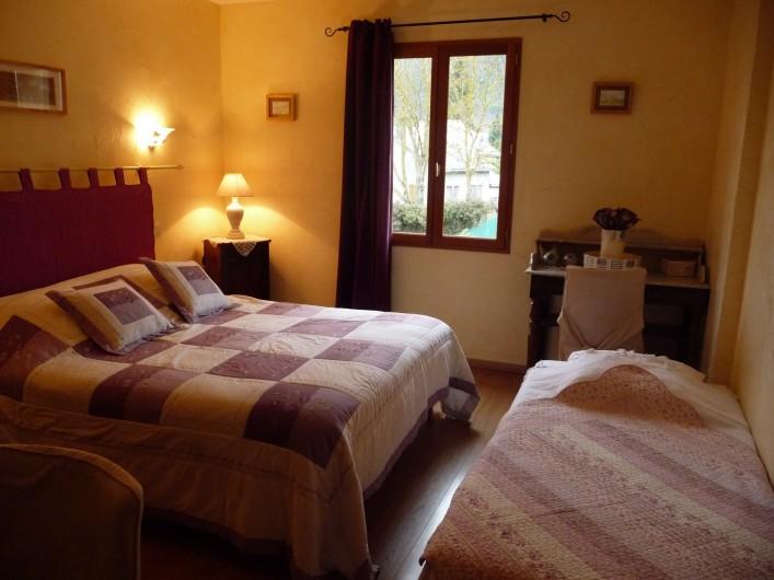 Location de vacances - Chambre d'hôtes à Guchen - Chambre Asphodèles
