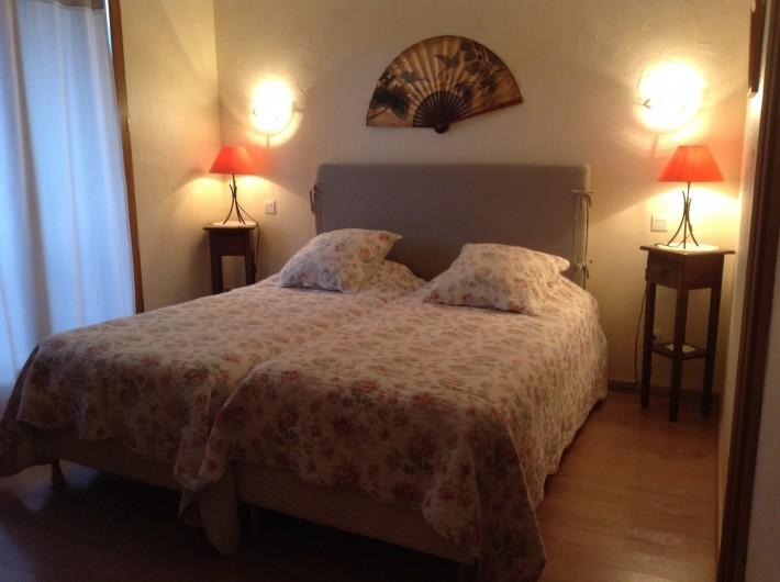 Location de vacances - Chambre d'hôtes à Guchen - Chambre Rodhodendron