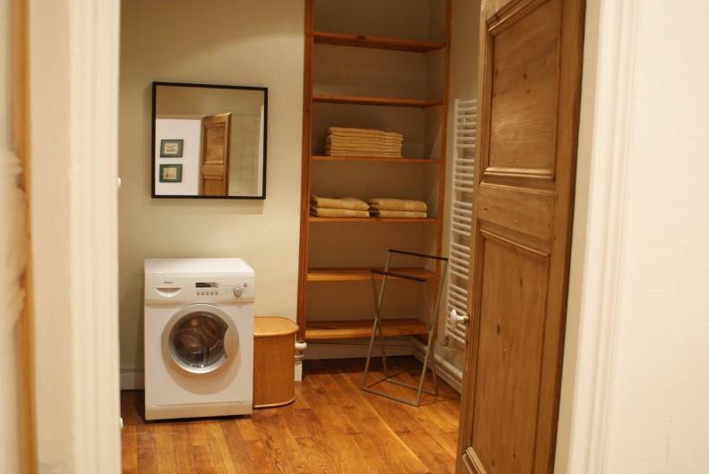 Location de vacances - Appartement à Lyon - Salle de bain