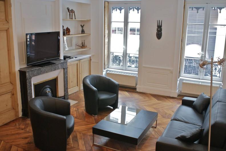 Location de vacances - Appartement à Lyon - Salon
