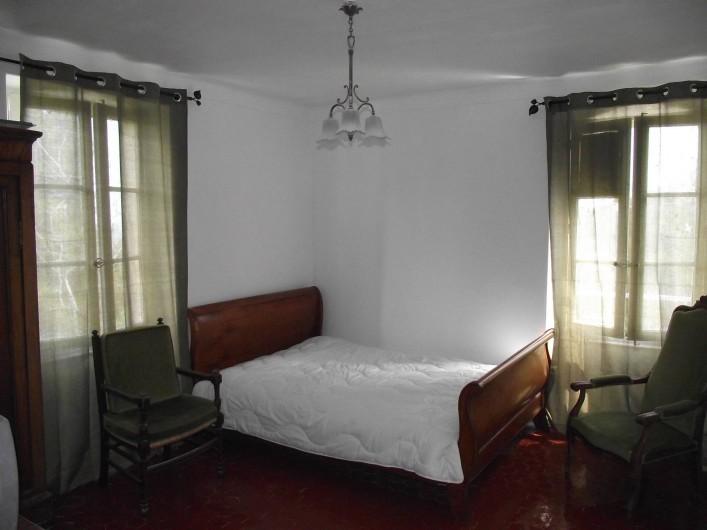 Location de vacances - Villa à Tourrettes - Chambre 1-  Lit 2 places