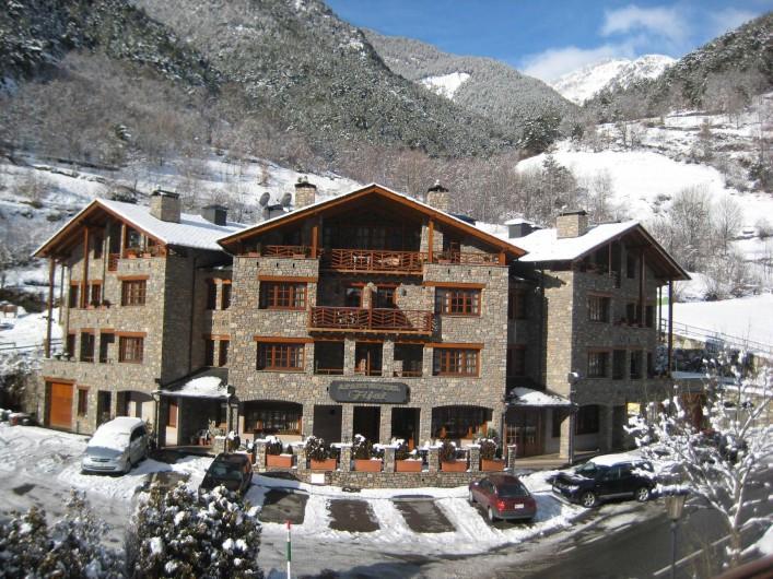 Location de vacances - Appartement à Llorts - avec la neige
