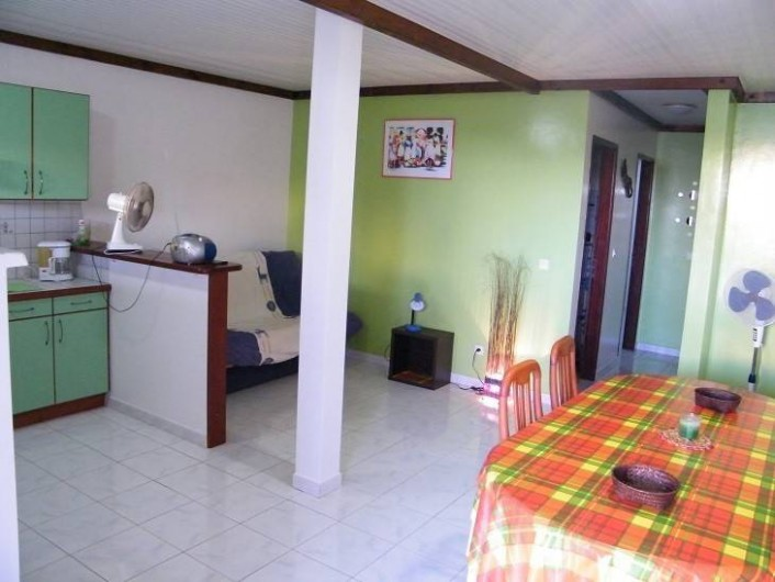 Location de vacances - Appartement à Le Diamant