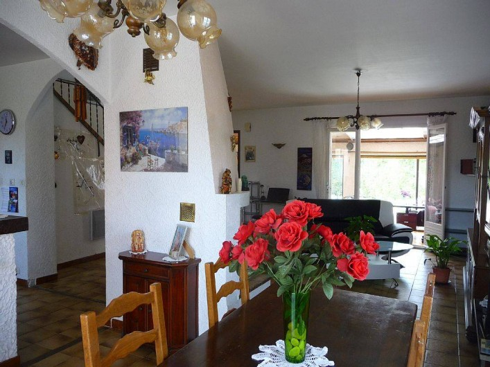 Location de vacances - Villa à Six-Fours-les-Plages - Séjour