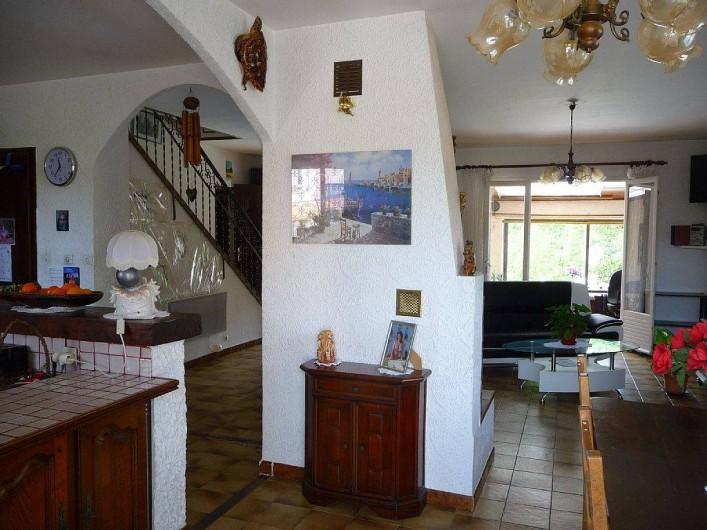 Location de vacances - Villa à Six-Fours-les-Plages - Pièce à vivre