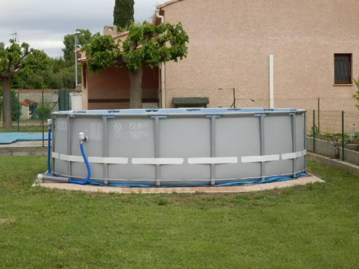 Location de vacances - Villa à Saint-Génies-de-Fontedit - Diamètre +/- 5m 20m³ eau
