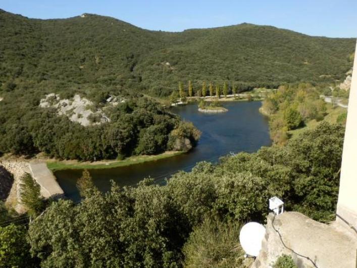 Location de vacances - Villa à Saint-Génies-de-Fontedit - Paysage typique de l'arrière pays