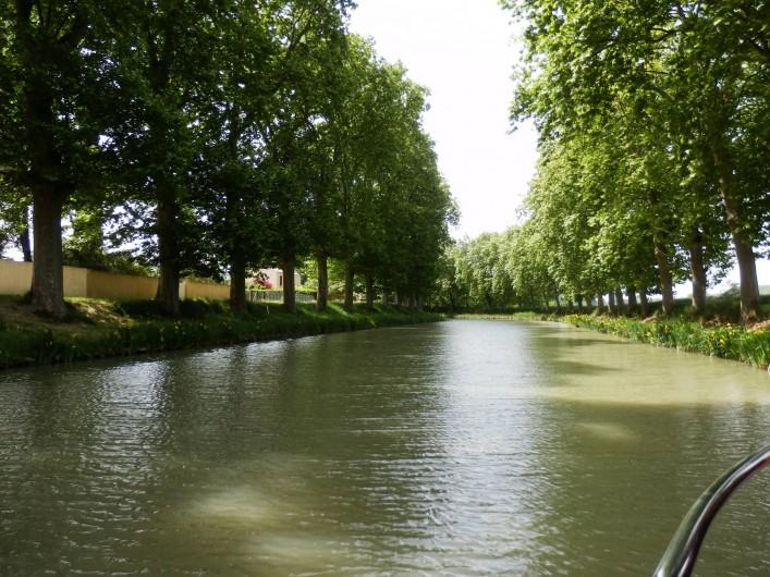 Location de vacances - Villa à Saint-Génies-de-Fontedit - Canal du Midi