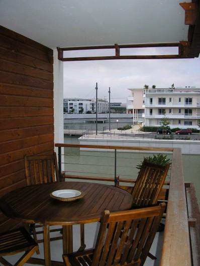 Location de vacances - Studio à La Rochelle - Balcon
