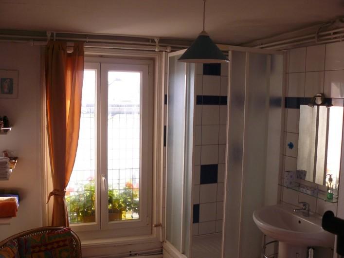 Location de vacances - Appartement à Le Tréport - Salle d'eau, la douche