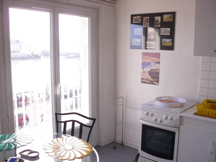 Location de vacances - Appartement à Le Tréport - Balconnet sur le quai