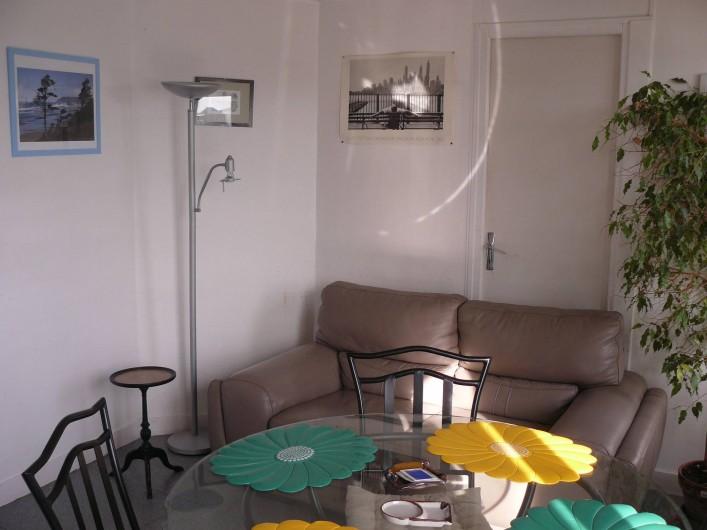 Location de vacances - Appartement à Le Tréport - Coin salon