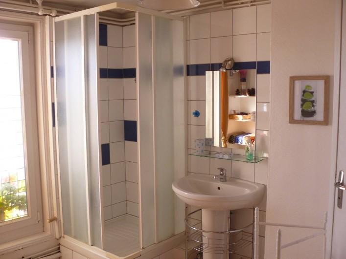 Location de vacances - Appartement à Le Tréport - Salle d'eau