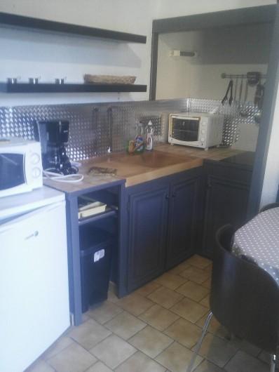 Location de vacances - Appartement à Chastreix - kitchenette studio n°3