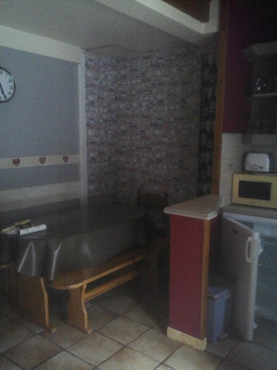 Location de vacances - Appartement à Chastreix - coin repas app n°2