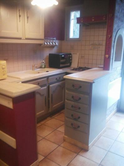 Location de vacances - Appartement à Chastreix - kitchenette app n°2