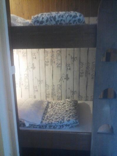 Location de vacances - Appartement à Chastreix - lit superposé studio n°3