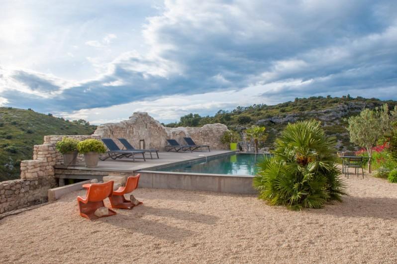 Location de vacances - Chambre d'hôtes à Méthamis - Escapade design en Provence, sur les gorges de la Nesque