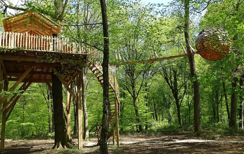 Location de vacances - Cabane dans les arbres à Joncherey