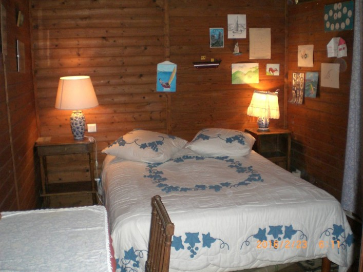Location de vacances - Villa à Carnac - Chambre parentale