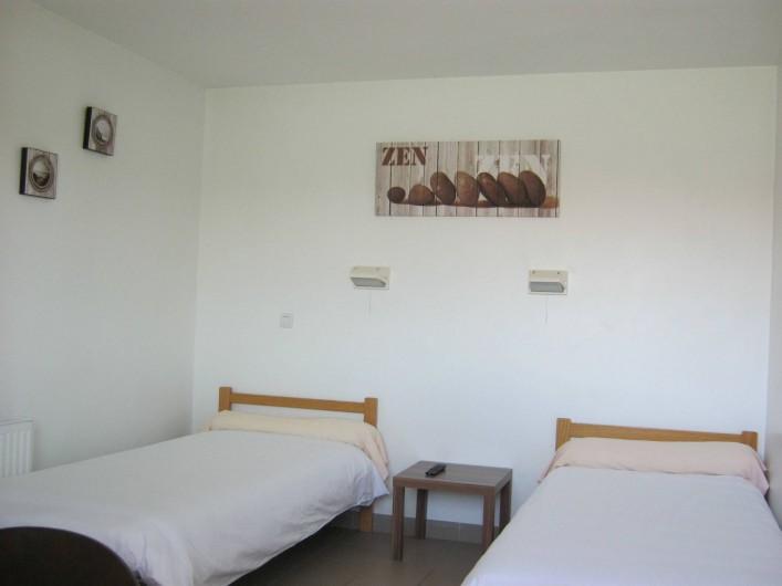 Location de vacances - Centre de vacances à Soustons - CHAMBRES DOUBLES 2 LITS JUMEAUX