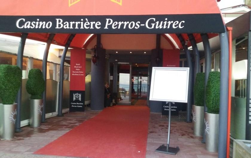 Location de vacances - Appartement à Perros-Guirec - casino avec machines a sous a 100m donc pas de bruits