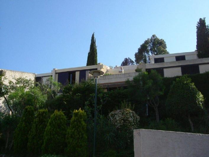 Location de vacances - Villa à Mandelieu-la-Napoule - vue domaine
