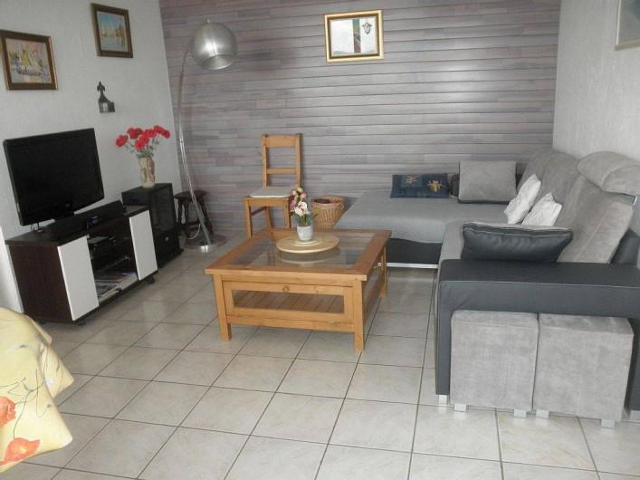 Location de vacances - Villa à Mandelieu-la-Napoule - salon
