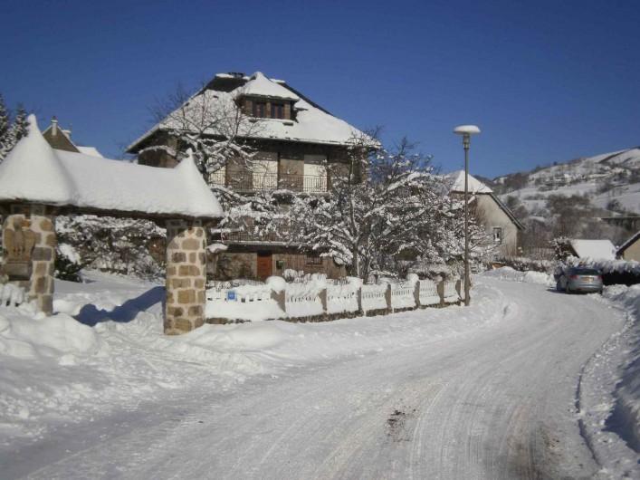 Location de vacances - Gîte à Saint-Jacques-des-Blats - Hiver