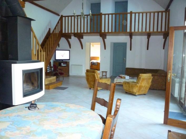 Location de vacances - Villa à Saint-Plantaire - Salon