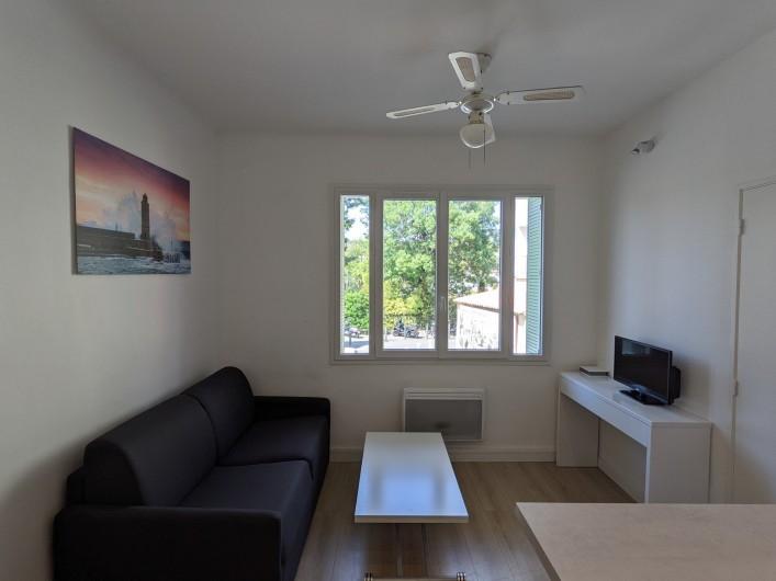Location de vacances - Appartement à Cassis - salon