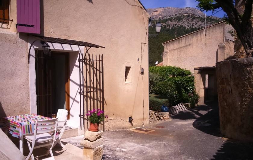 Location de vacances - Gîte à Lafare - La petite terrasse