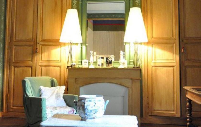Location de vacances - Chambre d'hôtes à Cheffes - La chambre Verte