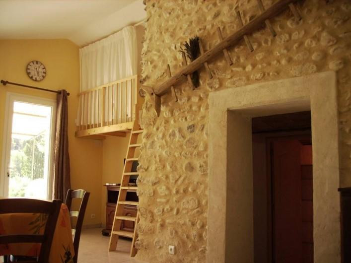 Location de vacances - Gîte à Vinsobres - Gîte Lorie - Mezzanine